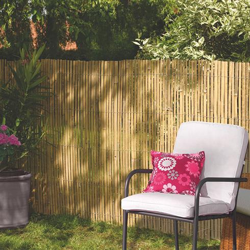 Belátásgátló 75%, hasított bambusznád kerítés BAMBOOCANE (2x5 méter)