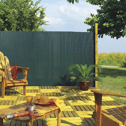 Belátáskorlátozó 85%, műanyag nád PLASTICANE OVAL (2x3 méter) zöld