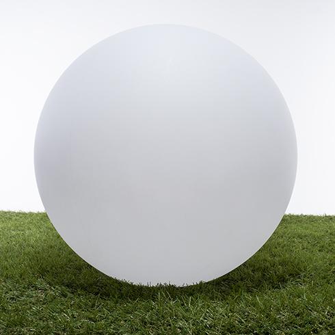 RGB LED világítású kerti dekoráció, akkuval, távirányítóval - gömb 30cm