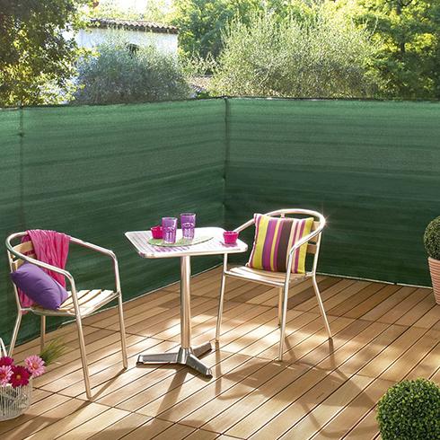 Szőtt árnyékoló háló 100%, gomblyukakkal SUPRATEX (1.5x50 méter) zöld