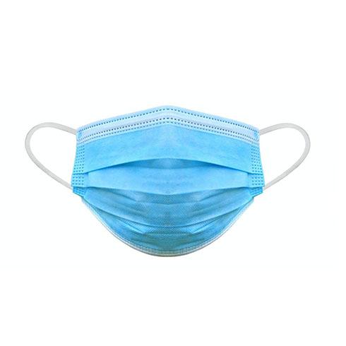 Arcmaszk - szájmaszk többrétegű eldobható (50db/doboz) kék