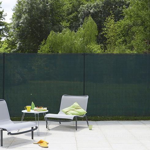 Szőtt árnyékoló háló 85%, rögzítő hurkokkal TEXANET (2x10 méter) zöld