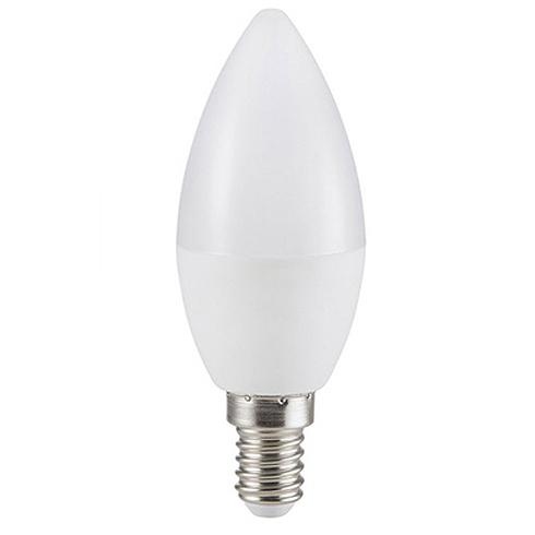 E14 LED lámpa (5.5W/200°) Gyertya - hideg fehér