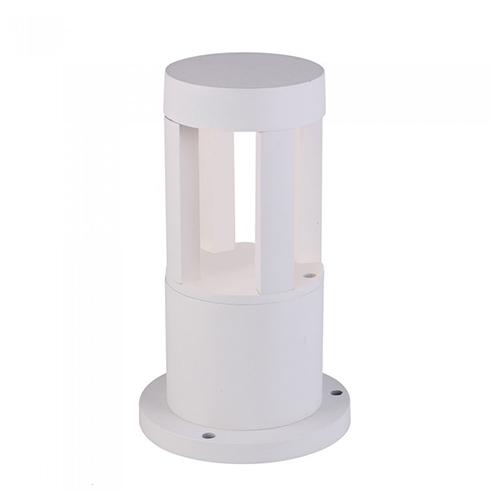 Kerti LED állólámpa, fehér (10W/450Lumen) 25 cm, hideg fehér