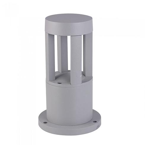 Kerti LED állólámpa, szürke (10W/450Lumen) 25 cm, meleg fehér