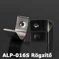 ALP-016S és 016R Tartó-, rögzítő elem alumínium LED profilhoz, fém