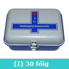 I elsősegély-felszerelés (kék)