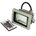 RGB LED reflektor (10W/120°) Infrás távirányítóval SMD