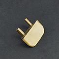 Type-Z Végzáró süllyeszthető alu LED profilhoz, barna