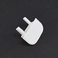 Type-Z Végzáró süllyeszthető alu LED profilhoz, fehér