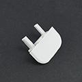 Type-Z Végzáró süllyeszthető alu LED profilhoz, szürke