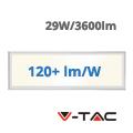 LED panel (1200 x 300mm) 29W - természetes fehér (120+lm/W) A++