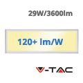LED panel (1200 x 300mm) 29W - meleg fehér (120+lm/W) A++
