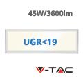 LED panel (1200 x 300mm) 45W - természetes fehér UGR<19