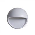StepLight-L LED lépcsővilágító - kör, szürke (3W) meleg fehér Kifutó!