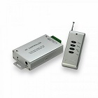 RGB LED szalag vezérlő (12-24V DC) - rádiós távirányítóval - 144 W