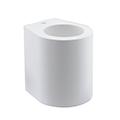 Gipsz G9 falon kívüli lámpatest (ovális), fehér