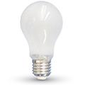 E27 LED izzó Loft filament (4W/300°) Körte - hideg fehér