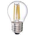 E27 LED izzó Retro filament (4W/300°) Kisgömb - meleg fehér