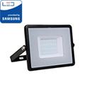 PRO LED reflektor fekete (20W/100°) Hideg fehér