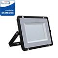 PRO LED reflektor fekete (200W/100°) Hideg fehér