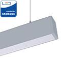 Irodai fel-le világító LED lámpatest (60W) fehér ház - 4000K- sorolható