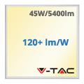 LED panel (600 x 600mm) 45W - meleg fehér (120+lm/W) A++