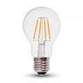 E27 LED izzó Retro filament (4W/300°) Körte - természetes fehér