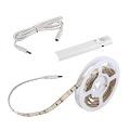 LEDS-SET LED szalag 2835-30, mozgásérz., elem, meleg f.