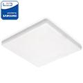 Állítható (75-100mm) LED panel (négyzet alakú) 12W - hideg fehér