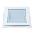 Állítható színhőmérsékletű LED panel (12W) négyzet (CCT) Kifutó!
