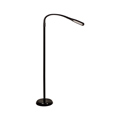 Álló LED lámpa fényerőszabályozható (7W) fekete