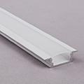 ALP-001 Aluminium U profil fehér - LED szalaghoz, opál burával