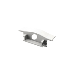 ALP-001 Véglezáró alumínium LED profilhoz - fehér