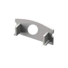 ALP-002, ALP-002RL Véglezáró alumínium LED profilhoz, fehér