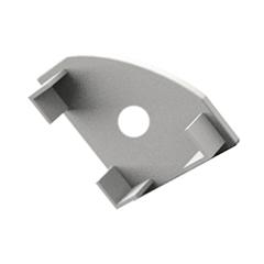 ALP-007 Véglezáró alumínium LED profilhoz, fehér