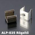 ALP-025 Vízálló műanyag profil  - tartó-, rögzítő elem fém
