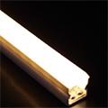 Műanyag profil vízálló (ALP-025) LED szalaghoz, opál