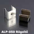 ALP-050 Tartó-, rögzítő elem alumínium LED profilhoz, fém