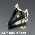 ALP-059 Gipszkarton klipsz alumínium LED profilhoz, fém
