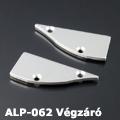 ALP-062 Véglezáró alumínium LED profilhoz, fém