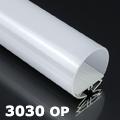 ALP-3030 Aluminium függeszthető profil ezüst, LED szalaghoz, opál bura
