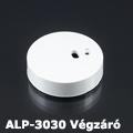 ALP-3030 Aluminium függeszthető profil végzáró, fehér