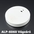 ALP-6060 Véglezáró alumínium LED profilhoz, szürke
