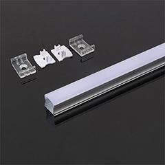 Aluminium profil LED szalaghoz (3366) Fehér