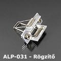 ALP-031 Tartó-, rögzítő elem alumínium LED profilhoz, rugós