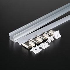 Aluminium profil LED szalaghoz (3354) Matt