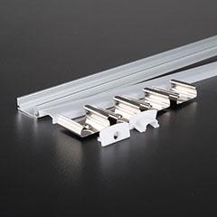 Aluminium profil LED szalaghoz (3355) Matt