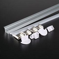 Aluminium profil LED szalaghoz (3357) Matt