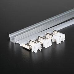 Aluminium profil LED szalaghoz (3358) Matt